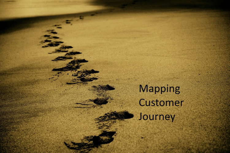 Mapping customer journey through the sales funnel