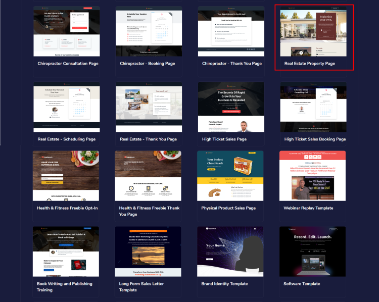Templates to earn from the GrooveFunnels affiliate program