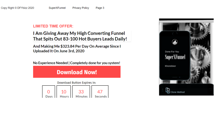 make money with plr content- squeeze page