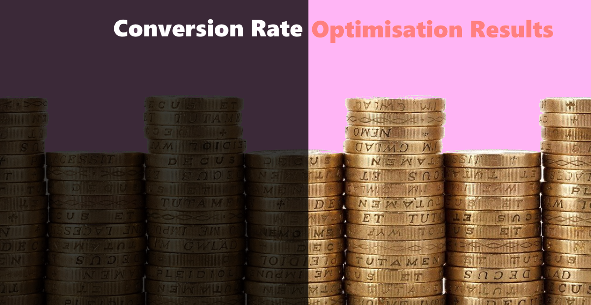 conversion rate optimization results