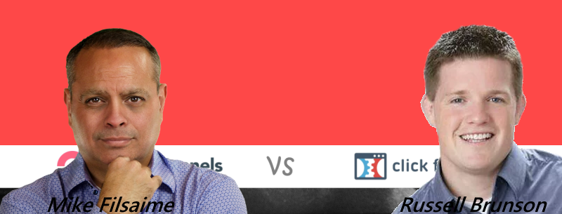 Mike of GrooveFunnels Vs. Russell of ClickFunnels