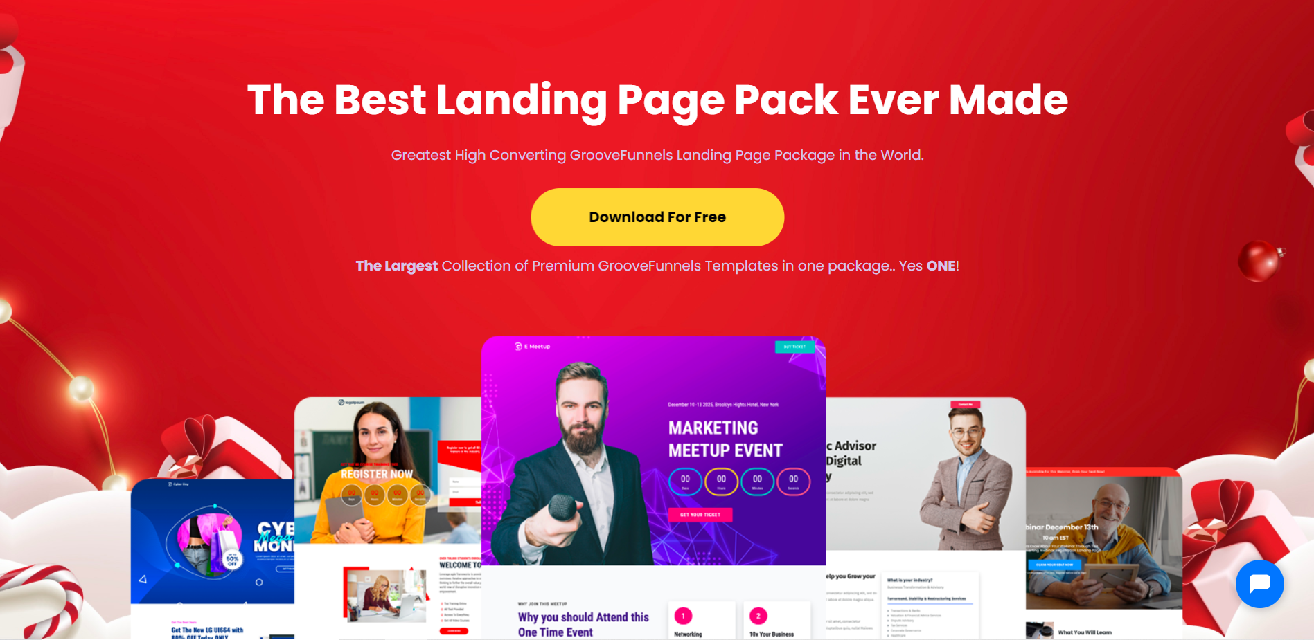 groovefunnels free templates