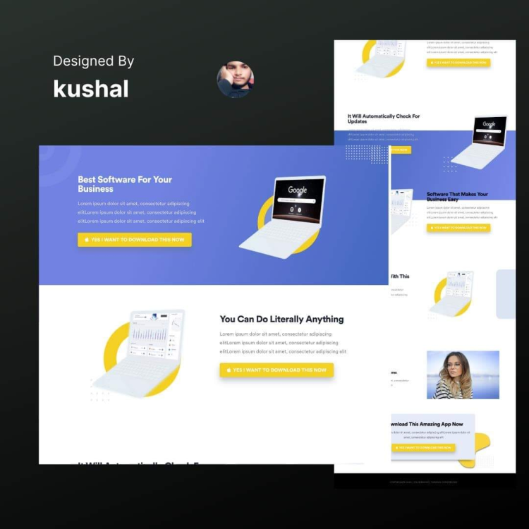 High-Converting Landing Page Creation2