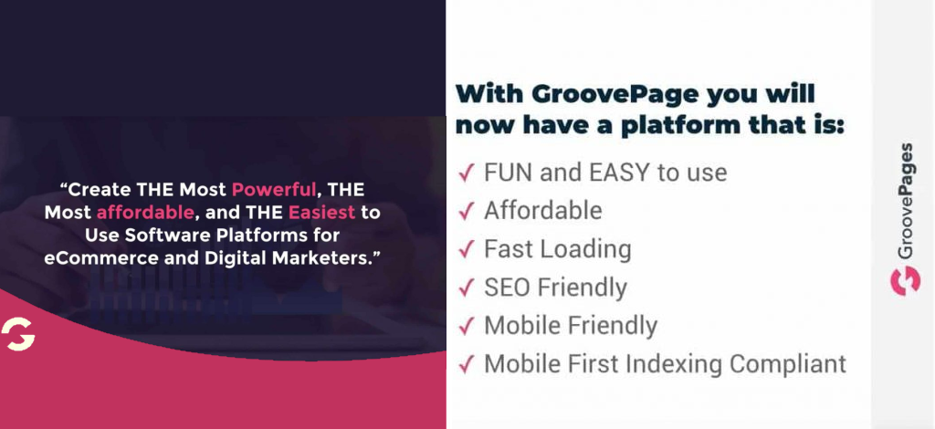 Groove.cm groovepages features